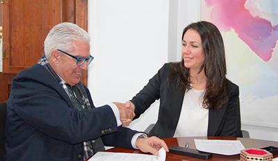 Cajasur - Acuerdo entre la Universidad de Granada y Cajasur